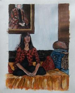 DSC_0096self portrait with auntie bessie
