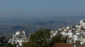Pisticci, view of Dirupo area.